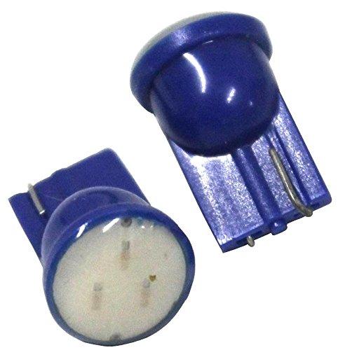 AERZETIX Jeu de 2 ampoules veilleuses T10 W5W 12V à LED bleu - C1680