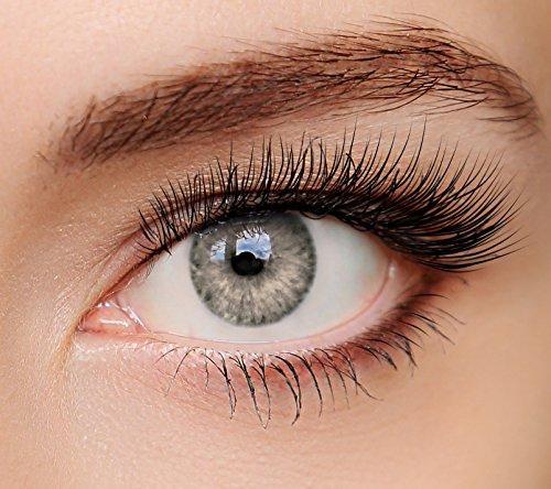 ELFENWALD farbige Kontaktlinsen, 3 - Monatslinsen, INTENSE OCKER, stark deckend, natürlicher Look, maximaler Tragekomfort, ohne Stärke, 1 Paar weiche Farblinsen, inkl. Behälter und Anleitung