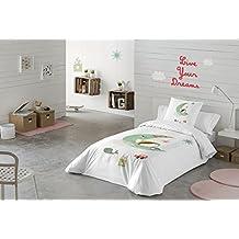 DREAMLAND Funda nórdica + funda de almohada (Cama 90cm)