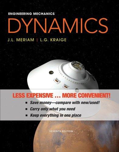 Engineering Mechanics-Dynamics by J. L. Meriam (2012-03-20)