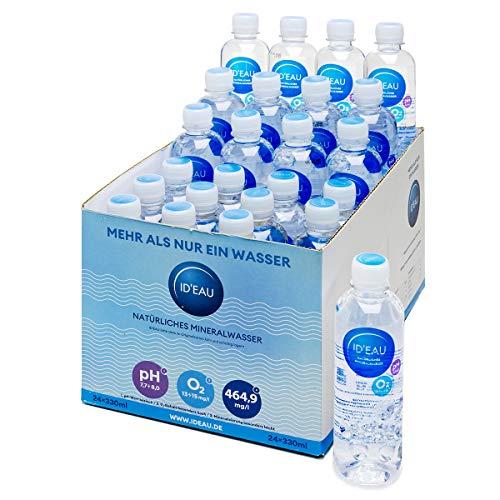 Mineralwasser ID'EAU regenerierendes stilles Wasser 0,33L 24er Pack (24 x 0,33L)