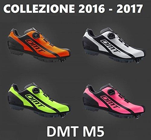 Gamma 2016-2017Fahrradschuhe MTB DMT M5Sohle Bicomponent-wählen Sie Farbe und Größe Neon Orange