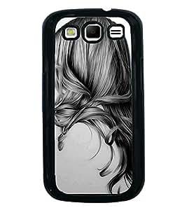 Printvisa Ultra Girl with Gorgeous Hair 2D Hard Polycarbonate Designer Back Case Cover for Sa...