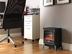 Dimplex Electric Micro-Stove, 1200 W, Black Cast Effect
