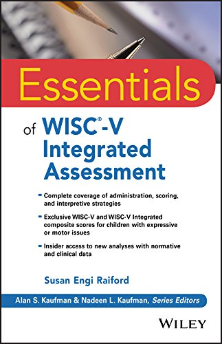Practical, in-depth guidance for WISC-V and WISC-V Integrated assessment Essentials of WISC-V Integrated Assessment is the ideal companion for psychologists and other assessment professionals seeking helpful interpretive and practical information bey...