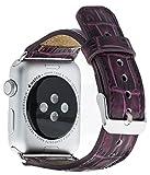 Solo Pelle Apple Watch Series 1 & 2 'Watch' Leder Armband Uhrenband mit passendem Uhrenadapter...