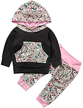 Sunny Fashion Vestido para niña Flor Shinning Boda Pageant Fiesta 3-10 años
