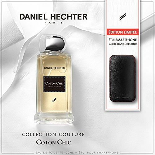 DANIEL HECHTER Coffret Parfum Coton Chic 100 ML avec Etui de Smartpho