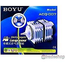 TrAdE shop Traesio®® Ventilador aireador Compresor Bomba Aire Membrana Acuario acquacoltura acq-007