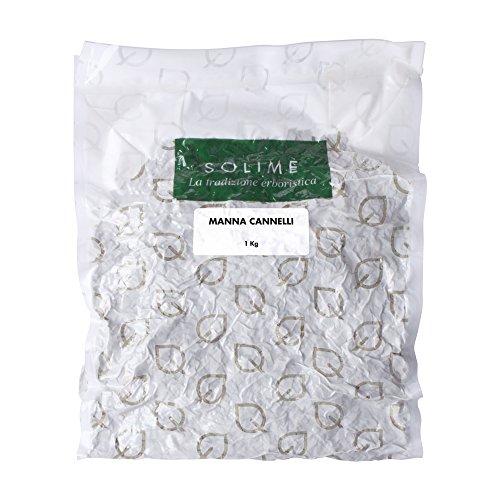 Manna Schweißbrenner-Kräutertee oder dekokt – 1 kg – Produkt made in Italy.