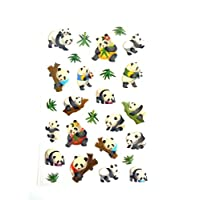 Panda Stickers Kids / Childrens Labels for party bags , scrap books , card making or notebook decoration
