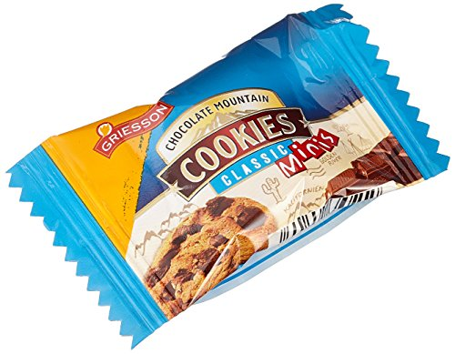 Griesson Chocolate Mountain Cookies Minis, 1er Pack (1 x 1.17 kg)