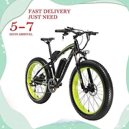 Extrbici XF660 500W 48V 10.4Ah 26\'X4.0 Elektro-Fahrrad Montain-Fahrrad 7-Gang-Shimano Dual-Mechanische Scheibenbremse voll elektrische Betriebsart Pedalunterstützungsmodus-Pedalmodus