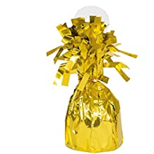 Unique Party - Globo decorativo para fiestas, color dorado (4940)