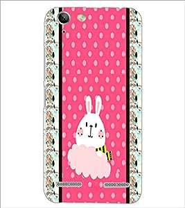 PrintDhaba Bunny D-3821 Back Case Cover for LENOVO VIBE K5 (Multi-Coloured)