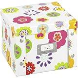 Zeller 17851 DVD-Box  Kids , Pappe 21.5 x 20.5 x 15 cm