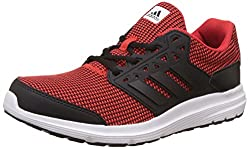 adidas Mens Galaxy 3.1 M Corred, Cblack and Ftwwht Running Shoes - 9 UK/India (43.33 EU)