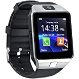 E-Quick M9 Bluetooth Smart Watches For Men Boys Girls Smartwatch With Camera & SIM Card Support Compatible With IPhone Samsung Xiomi Redmi And All Mobile.(Silver)