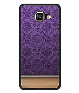 PrintVisa Designer Back Case Cover for Samsung Galaxy A5 (6) 2016 :: Samsung Galaxy A5 2016 Duos :: Samsung Galaxy A5 2016 A510F A510M A510Fd A5100 A510Y :: Samsung Galaxy A5 A510 2016 Edition (Violet Ethnic Design Of Home Décor)