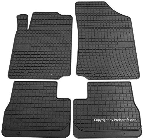 Preisvergleich Produktbild Gummi Auto Fußmatten exakter Passform 4-teilig CTR-545972