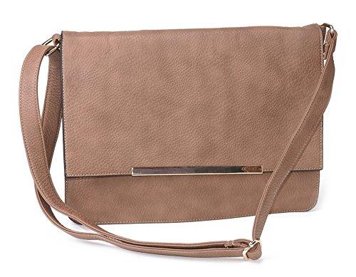 Handtasche - Schulter Tasche 300004 Braun