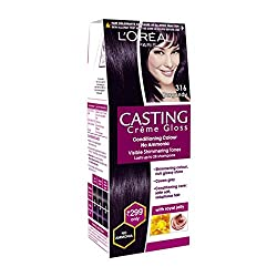 Loreal Paris Casting Creme Gloss Conditioning Color With Royal ( No Ammonia ) (316 Burgundy)