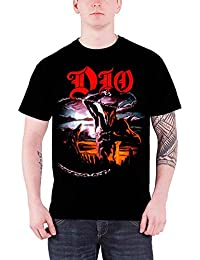 Dio T Shirt Holy Diver Ronnie James R.I.P. Band Logo Official Mens Black