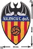 Parches - FC Valencia C.F. - Blanquinegros - Soccer Spain - Primera Division - Soccer - Deportes de Motor - Deportes - Fútbol - Parche Termoadhesivos Bordado Apliques - Patch
