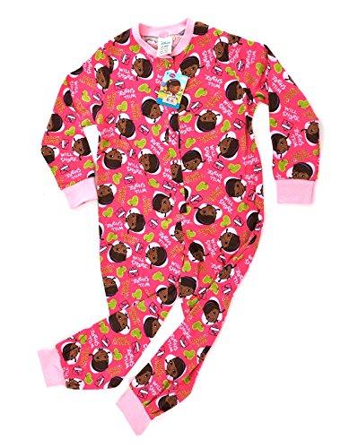 Pigiama unisex, motivi: principesse Disney, Monster High, Minnie Mouse, Angry Birds, Dottoressa Peluche, Sofia la principessa, Campanellino, taglie: 1-10 anni Doc McStuffins - Have Cuddles, Will Share 3-4 Anni