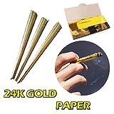TAOtTAO Hand-Rolled Paper Rolling Paper Filter Tips 110MM natürliches weißes unraffiniertes Zigarettenpapier