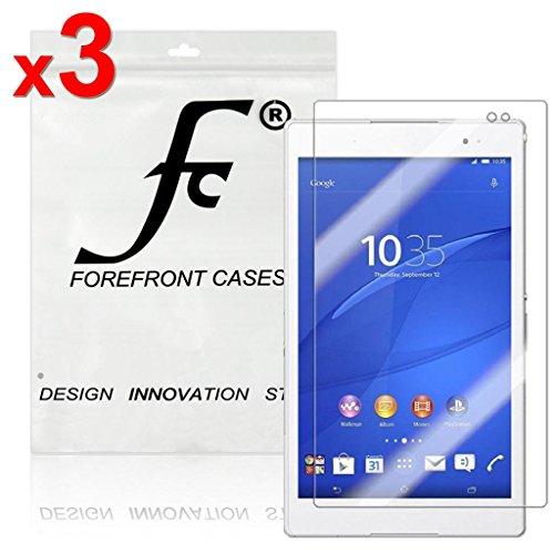 Forefront Cases® Displayschutzfolie für Sony Xperia Z3 8-inch Tablet Compact Schutzfolie Screen Protector (Packung mit 3) (Screen Protector Für Xperia Z3)