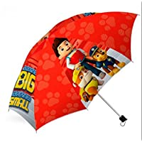 Kids Licensing Paw Patrol Auto Folding Umbrella - Red