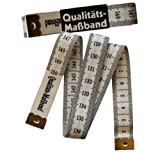 1 Qualitäts - Maßband  / 150 cm weiss