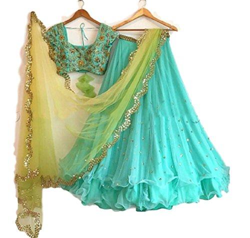 Karmafashion lehenga choli design for wedding Lehenags function Semi Stitched bridal lehenga...