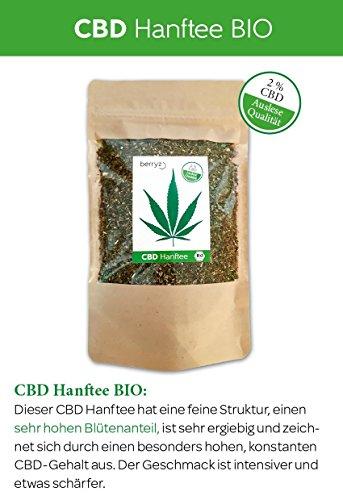 berryz CBD Hanf Tee + Das Original mit 2% CBD - 2