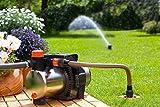 """Gardena 2722-20 Anschlussdose Garten Pipelinet, einfache Bedienung, breiter Rand, entnehmbares Schmutzsieb, versenkbare Kugeldeckel (Als Erweiterung der Starter Sets; Gewinde: 3/4"""" Außengewinde)"""