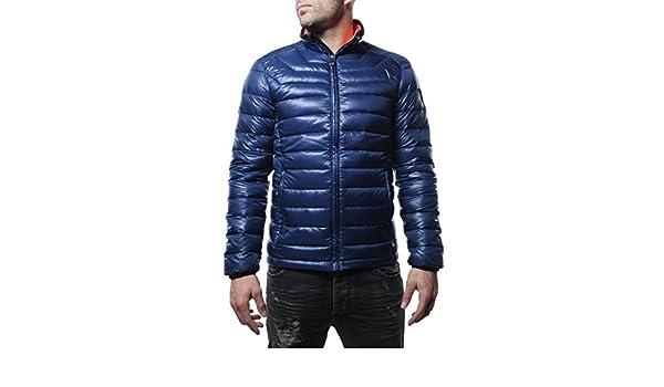 26c2c0d53044 Emporio Armani Doudoune Homme EA7 - Ref.271359 - Col. Marine - Bleu -   Amazon.fr  Vêtements et accessoires