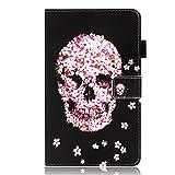 Eazyhurry - Custodia per Huawei MediaPad M5 10, ultra sottile e leggera, con funzione di accensione/spegnimento automatico, per tablet Huawei MediaPad M5 da 10,8 pollici verde Skull