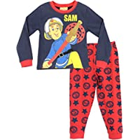 Fireman Sam Boys Pyjamas Ages 12 Months to 7 Years