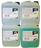 Hochwertiges Brünier-Set (4 x 5000 ml)- Konzentrat f. Kalt und Tauch Brünierung – Brüniermittel/Brünierung zum Brünieren von Stahl