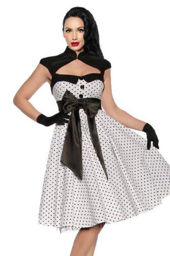 Rockabilly-Kleid mit einer Satinschleife - 2