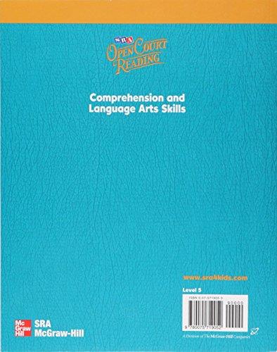 Open Court Reading, Comprehension and Language Arts Skills Workbook, Grade 5 (IMAGINE IT)