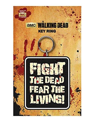 Unbekannt The Walking Dead Schlüsselring Fight The Dead Fear the Living Nue offiziell AMC