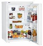 Liebherr T 1700 Tisch-Kühlschrank/A+A+ / 125 kWh/Jahr / 151 L Kühlteil/Vollraum / weiß