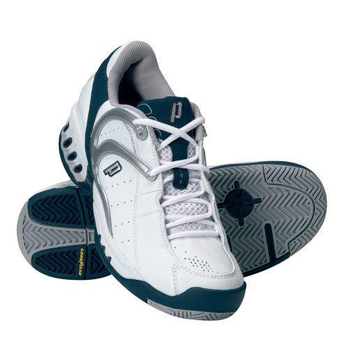 Prince Tennis Footwear, Chaussures tennis homme - Blanc/gris/bleu