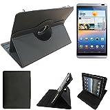 Huawei MediaPad M1 8.0 Funda protectora de alta calidad para tableta Huawei MediaPad M1 8.0, negra....