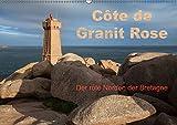 Côte de Granit Rose - Der rote Norden der Bretagne (Wandkalender 2019 DIN A2 quer): Blaues Meer und rote Felsen - eine der beeindruckendsten ... (Monatskalender, 14 Seiten ) (CALVENDO Natur)