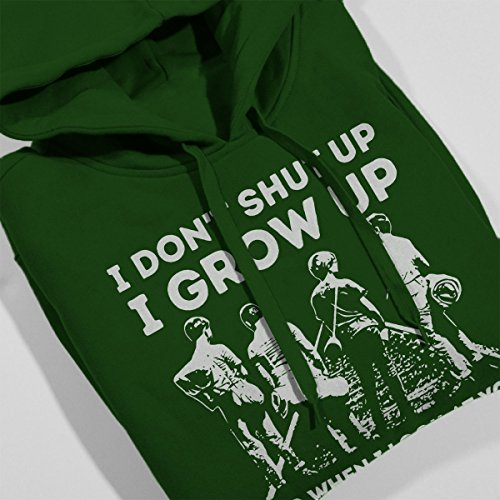 Stand By Me Women's Hooded Sweatshirt Bottle Green