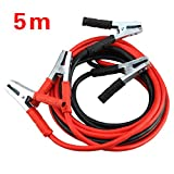 MultiWare Booster Cables For Car Van Truck 2000amp Heavy Duty Battery Jump Leads 5 Metre Long