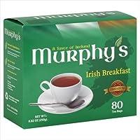 Murphy's Irish Breakfast Tea, 80 Count (Pack of 6)